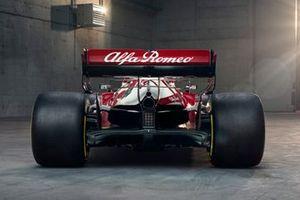 Parte trasera del Alfa Romeo Racing C41
