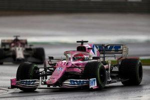 Sergio Perez, Racing Point RP20, Kimi Raikkonen, Alfa Romeo Racing C39