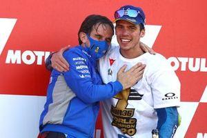 Davide Brivio, Joan Mir, Team Suzuki MotoGP