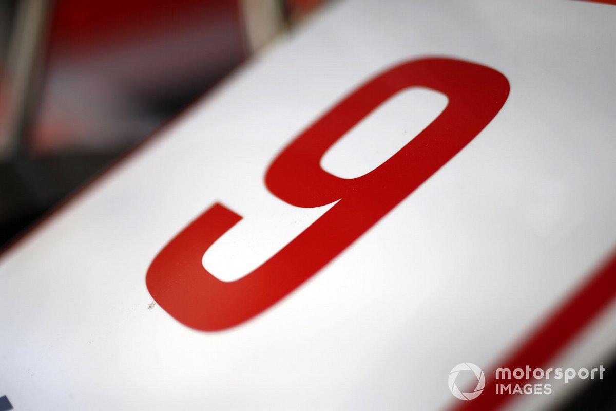 Le numéro de course de Nikita Mazepin, Haas F1