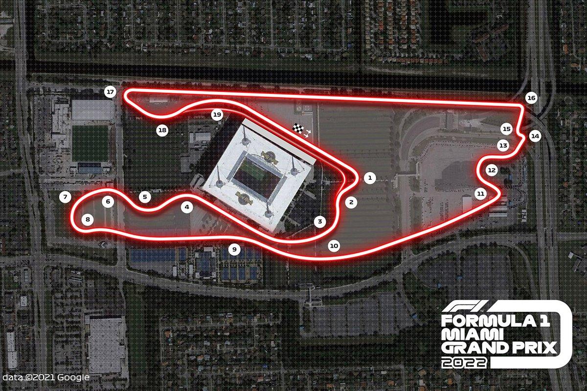 El circuito de Miami
