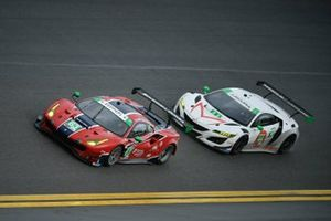#63 Scuderia Corsa Ferrari 488 GT3, GTD: Ryan Briscoe, Marcos Gomes, Ed Jones, Bret Curtis, #44 Magnus with Archangel Acura NSX GT3, GTD: John Potter, Spencer Pumpelly, Andy Lally, Mario Farnbacher