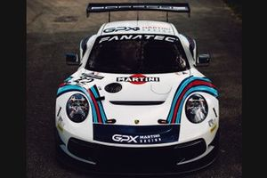 #22 GPX Racing, Porsche 911 GT3 R: Matt Campbell, Ear Bamber, Mathieu Jaminet