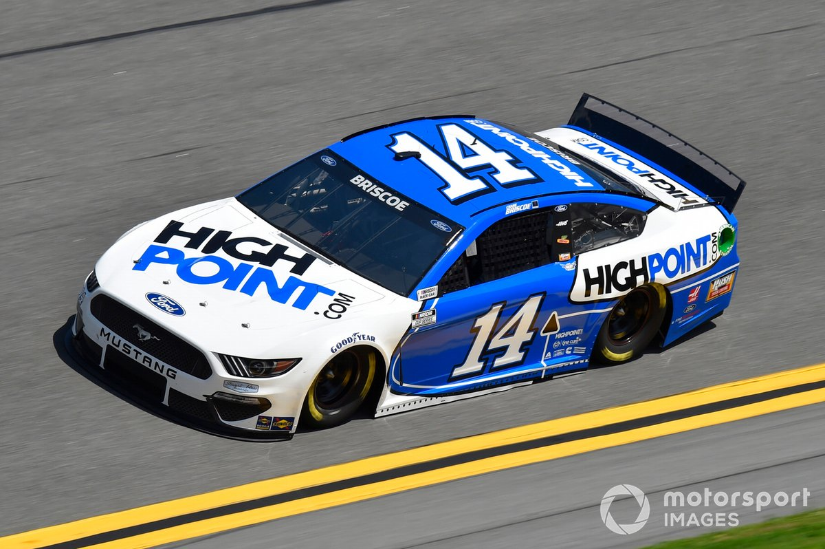 30. Chase Briscoe, Stewart-Haas Racing, Ford Mustang