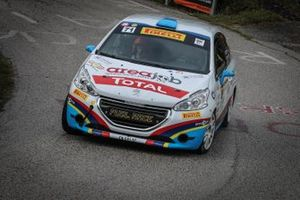 Alessandro Zorra, vince la Peugeot Competition 208 Rally Cup PRO