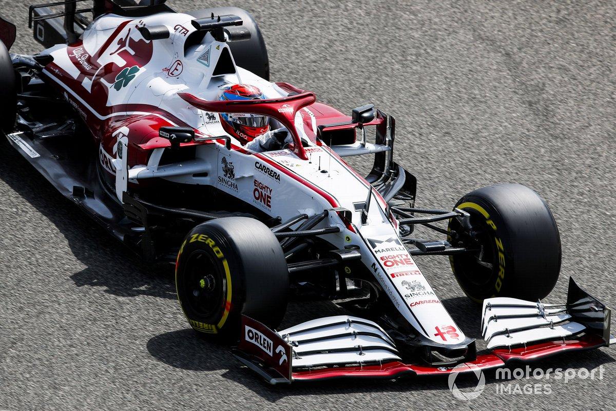 2. Kimi Raikkonen, Alfa Romeo Racing C41: 229 vueltas (1239,348 km)