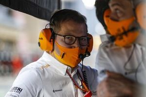 Andreas Seidl, director del equipo, McLaren