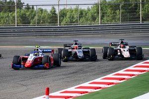 Robert Shwartzman, Prema Racing, Nikita Mazepin, Hitech Grand Prix and Marcus Armstrong, ART Grand Prix