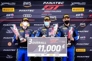 #14 Emil Frey Racing Lamborghini Huracan GT3 Evo: Rolf Ineichen, Alex Fontana, Ricardo Feller