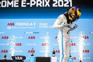Race Winner Stoffel Vandoorne, Mercedes-Benz EQ celebrates in parc farme