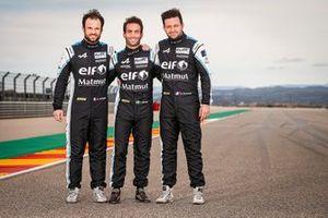 André Negrão, Nicolas Lapierre, Matthieu Vaxiviere, Alpine A480 LMP1