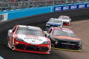 Brandon Jones, Joe Gibbs Racing, Toyota Supra Toyota, Brandon Brown, Brandonbilt Motorsports, Chevrolet Camaro Larry's Hard Lemonade