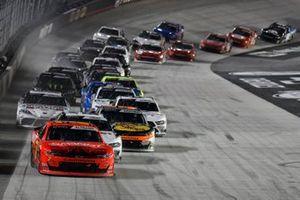 Justin Allgaier, JR Motorsports, Chevrolet Camaro BRANDT, Austin Cindric, Team Penske, Ford Mustang Discount Tire