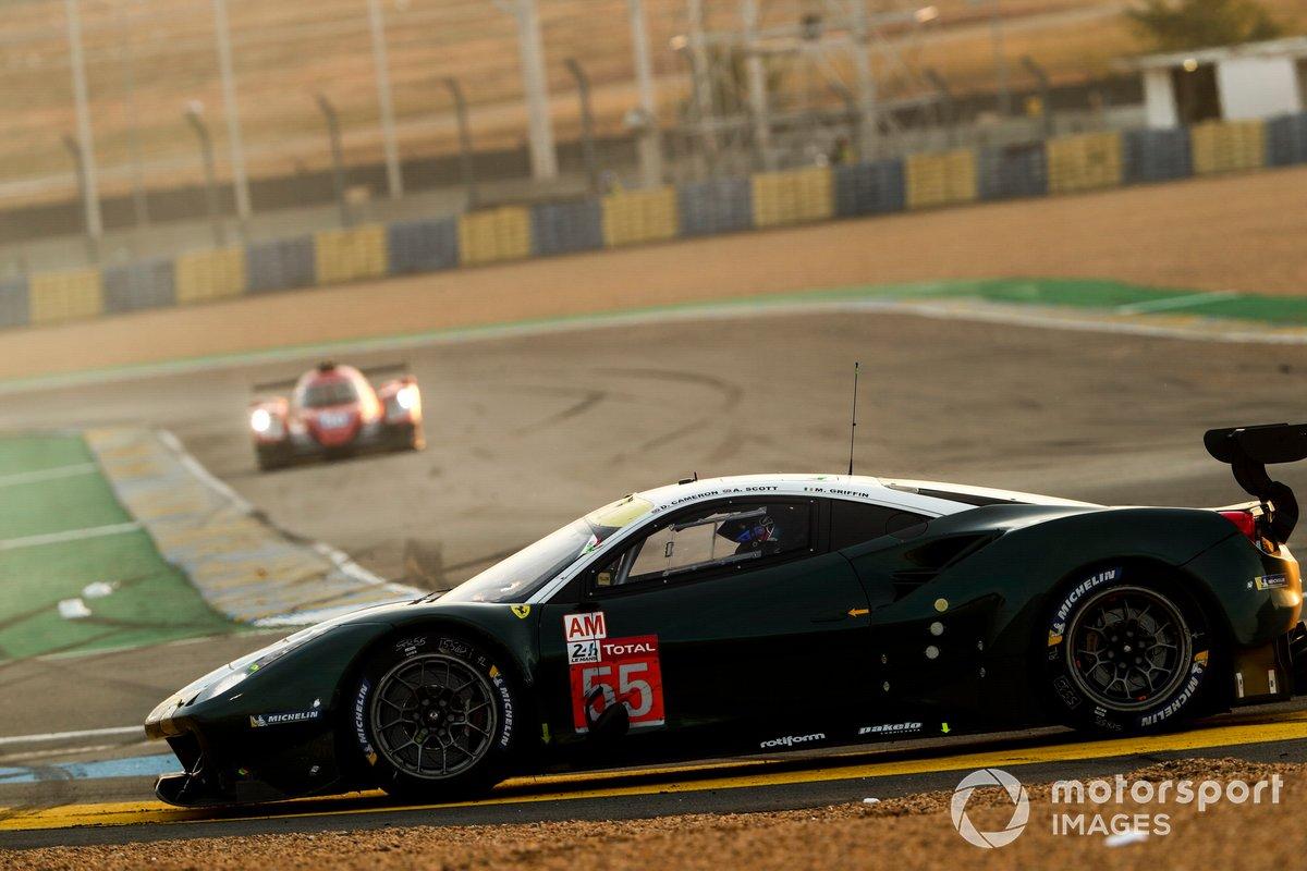 #55 Spirit of Race Ferrari 488 GTE Evo: Duncan Cameron, Matthew Griffin, Aaron Scott