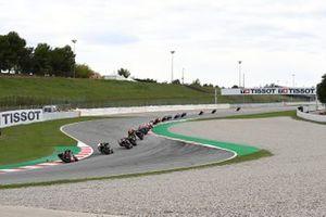 Renn-Action beim GP Katalonien 2020 in Barcelona
