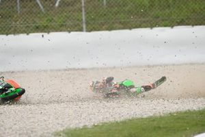 Sturz: Davide Pizzoli, RBA Racing Team