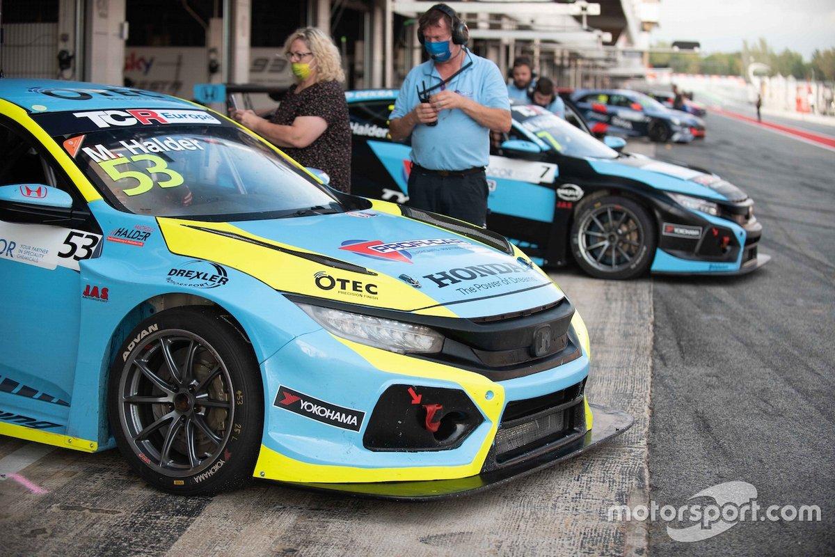 Michelle Hadler, Profi Car Team Halder, Honda Civic Type R FK7 TCR