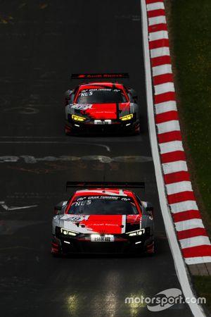 #29 Audi Sport Team Audi R8 LMS GT3: Mattia Drudi, Christopher Mies, Kelvin Van Der Linde