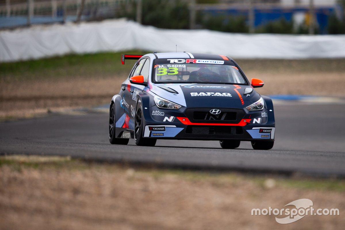 José Manuel Sapag, Target Competition, Hyundai i30 N TCR