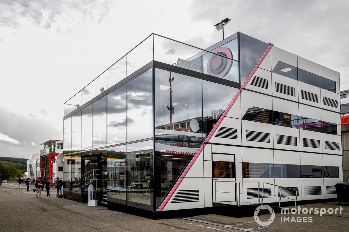 Motorhome de Racing Point F1