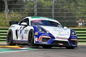 Paolo Gnemmi, Sabino M. De Castro, Riccardo Pera, Porsche Cayman GT4, Ebimotors
