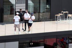 Lewis Hamilton, Mercedes-AMG F1 and Valtteri Bottas, Mercedes-AMG F1