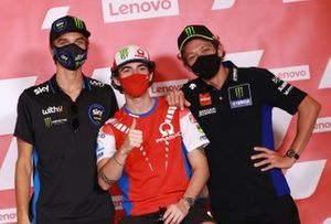 Luca Marini, Sky Racing Team VR46, Francesco Bagnaia, Pramac Racing, Valentino Rossi, Yamaha Factory Racing