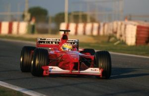 Luca Badoer, Ferrari F1-2000