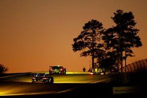 #16 Wright Motorsports Porsche 911 GT3 R, GTD: Ryan Hardwick, Patrick Long, Jan Heylen, #48 Paul Miller Racing Lamborghini Huracan GT3, GTD: Bryan Sellers, Madison Snow, Corey Lewis