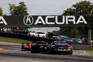 #22 Gradient Racing Acura NSX GT3, GTD: Till Bechtolsheimer, Marc Miller, #24 BMW Team RLL BMW M8 GTE, GTLM: John Edwards, Jesse Krohn