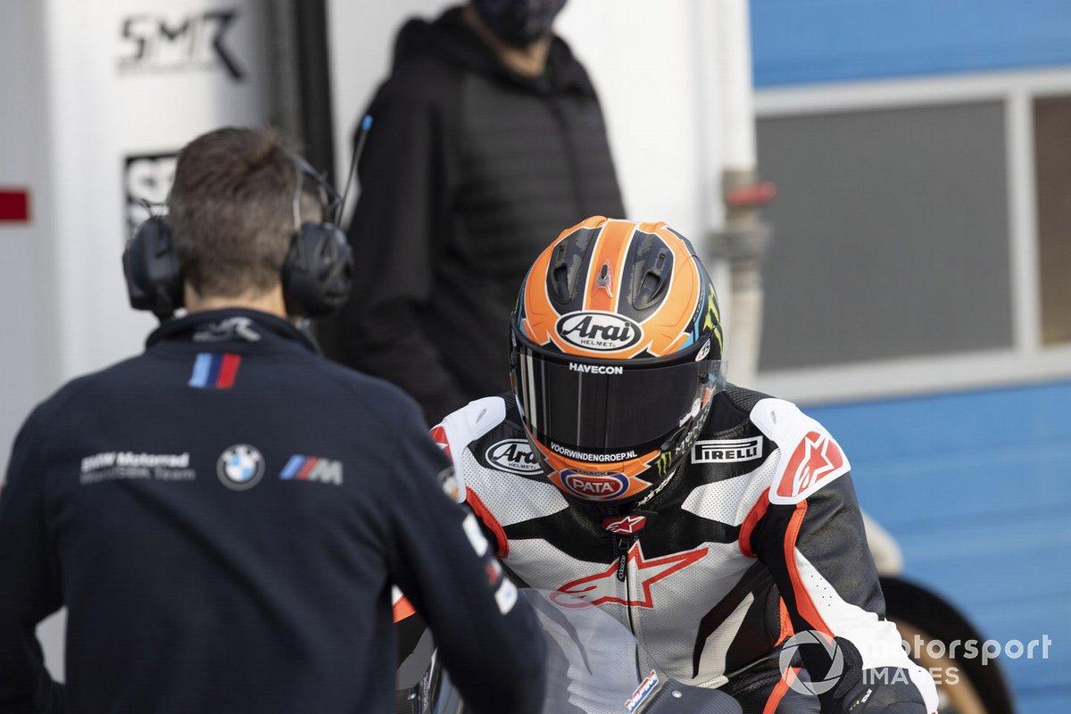 Michael van der Mark, BMW Motorrad WorldSBK Team, test de BMWS1000RR