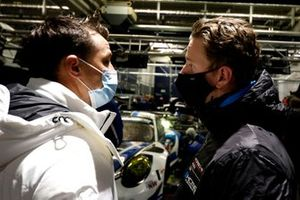 #19 KCMG Porsche 911 GT3 R: Dennis Olsen, #18 KCMG Porsche 911 GT3 R: Earl Bamber
