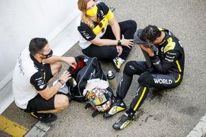 Daniel Ricciardo, Renault F1 in Parc Ferme