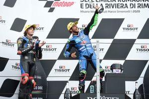 1. Enea Bastianini, Italtrans Racing Team, 2. Marco Bezzecchi, Sky Racing Team VR46