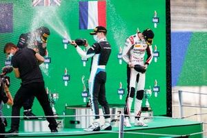 Liam Lawson, Hitech Grand Prix, Jake Hughes, HWA Racelab en Theo Pourchaire, ART Grand Prix