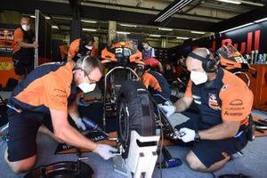 Red Bull KTM garage atmosphere