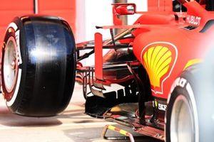 Sidepod of the Ferrari SF1000