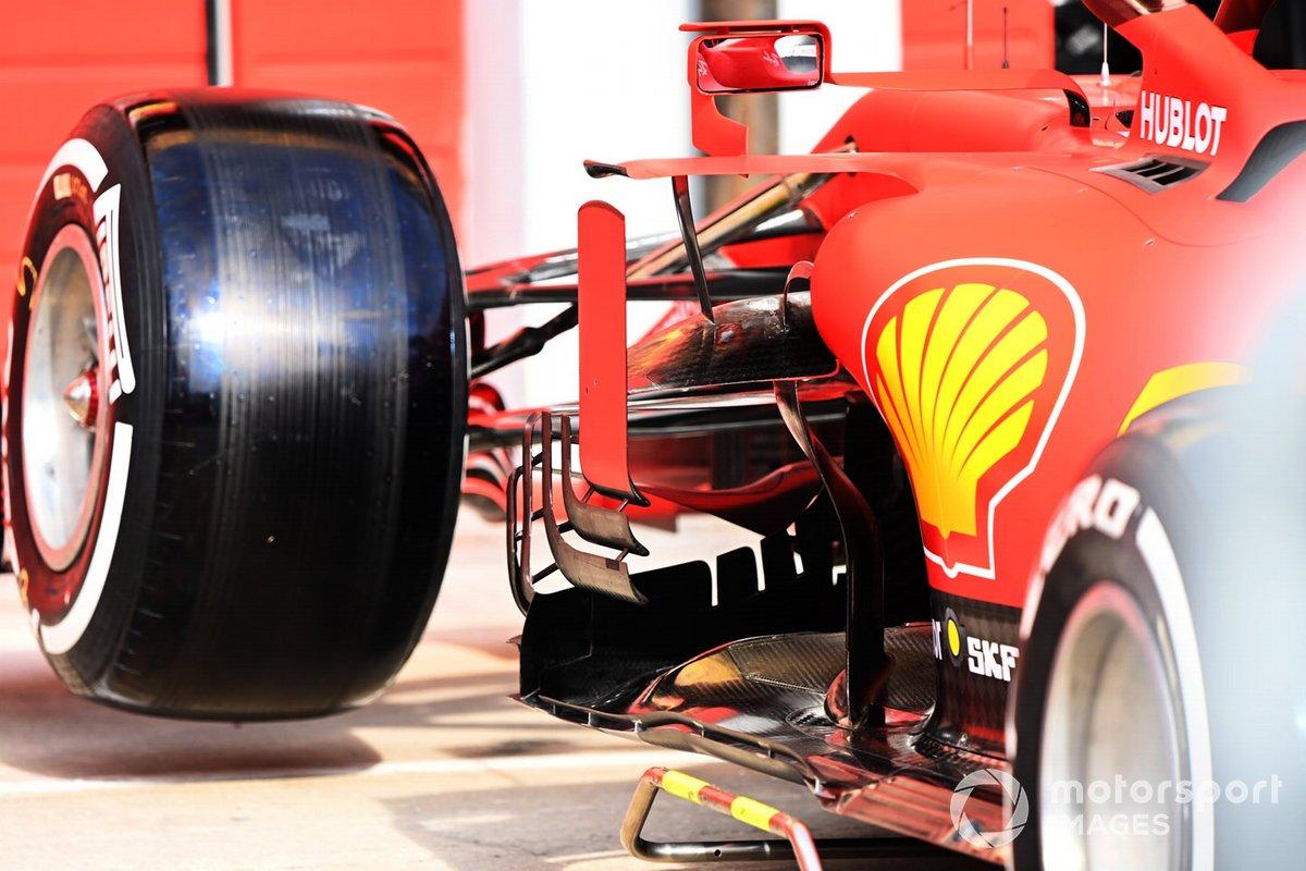 Sidepod del Ferrari SF1000