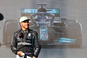 Lewis Hamilton, Mercedes, entrevistado tras la clasificación