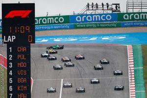 Start der W-Series 2021 auf dem Circuit of The Americas in Austin