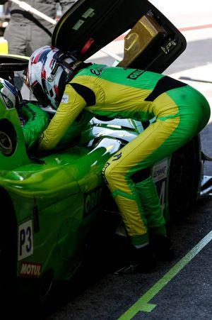 #14 Inter Europol Competition Ligier JS P320 - Nissan LMP3, Mateusz Kaprzyk