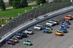 William Byron, Hendrick Motorsports, Chevrolet Camaro Liberty University, Kyle Busch, Joe Gibbs Racing, Toyota Camry Interstate Batteries