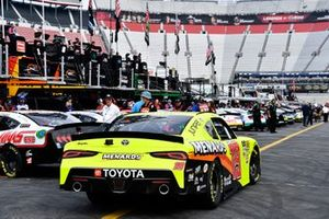 Brandon Jones, Joe Gibbs Racing, Toyota Supra Menards/SoleusAir