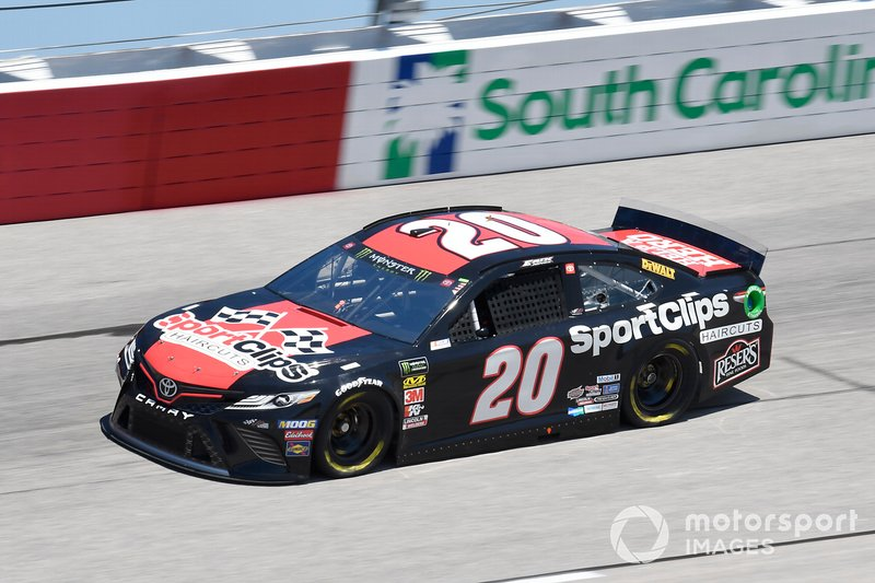1. Erik Jones, Joe Gibbs Racing, Toyota Camry