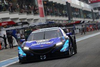 #1 Team Kunimitsu Honda NSX-GT: Jenson Button, Naoki Yamamoto