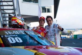 Carro #00, Felipe Baptista e Marcelo Tomasoni - Porsche Cup Estoril