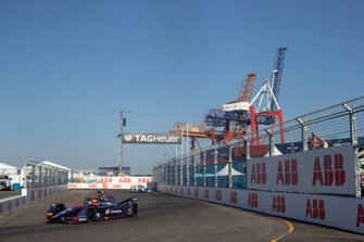 Robin Frijns, Envision Virgin Racing, Audi e-tron FE05, Antonio Felix da Costa, BMW I Andretti Motorsports, BMW iFE.18