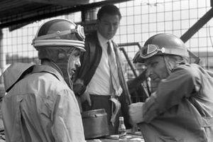 Juan Manuel Fangio and Carlos Menditéguy