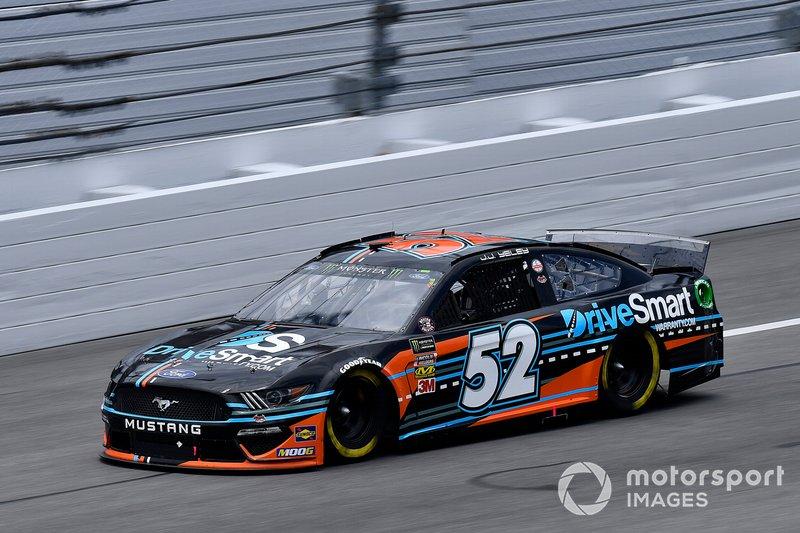 J.J. Yeley, Rick Ware Racing, Ford Mustang DriveSmartWarranty.com