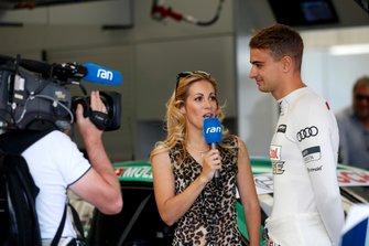 Nico Müller, Audi Sport Team Abt Sportsline with Andrea Kaiser, Sat 1 TV